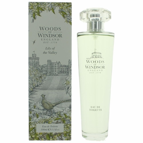 Woods Of Windsor Lily Of The Valley by Woods Of Windsor, 3.3 oz Eau De Toilette Spray for Women