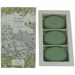 Woods Of Windsor Lily Of the Valley by Woods of Windsor, 3 X 2.1 oz Luxury Soap for Women
