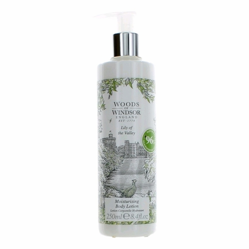 Woods of Windsor Lily of The Valley by Woods of Windsor, 8.4 oz Body Lotion for Women