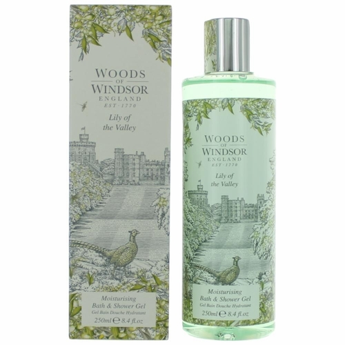 Woods of Windsor Lily of The Valley by Woods of Windsor, 8.4 oz Moisturising Bath and Shower Gel  for Women