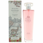 Woods Of Windsor Pomegranate & Hibiscus by Woods Of Windsor, 3.3 oz Eau De Toilette Spray for Women