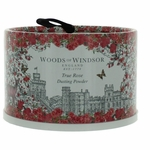 Woods of Windsor True Rose by Woods of Windsor, 3.5 oz Dusting Powder w Puff for Women
