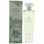 Woods Of Windsor White Jasmine by Woods Of Windsor, 3.3 oz Eau De Toilette spray for Women
