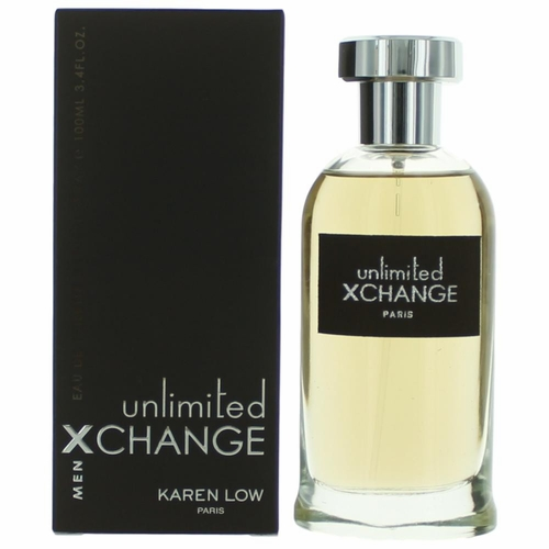 Xchange Unlimited by Karen Low, 3.4 oz Eau De Toilette Spray for Men