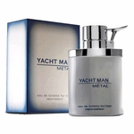 Yacht Man Metal by Myrurgia, 3.4 oz Eau De Toilette Spray for Men