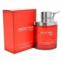 Yacht Man Red by Myrurgia, 3.4 oz Eau De Toilette Spray for Men