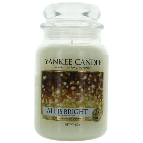 Yankee Candle Scented 22 oz Large Jar Candle - All Is Bright