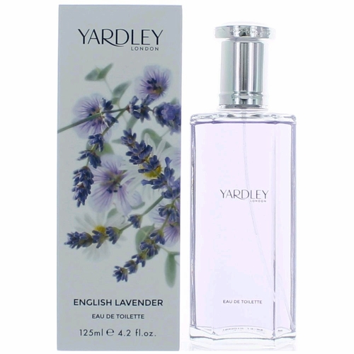 Yardley English Lavender by Yardley of London, 4.2 oz Eau De Toilette Spray for Women