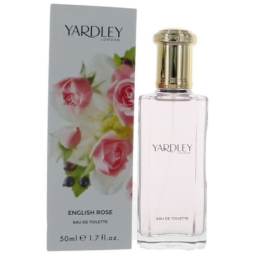 Yardley English Rose by Yardley of London, 1.7 oz Eau De Toilette Spray for Women