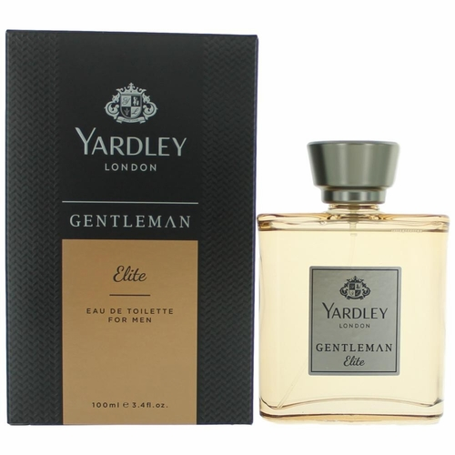 Yardley Gentlemen Elite by Yardley of London, 3.4 oz Eau De Parfum Spray for Men