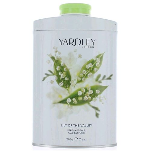 Yardley Lily of the Valley by Yardley of London, 7 oz Talc for Women