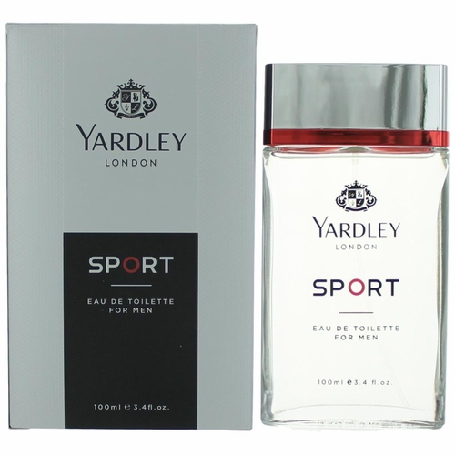 Yardley Sport by Yardley of London, 3.4 oz Eau De Toilette Spray for Men