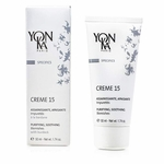 Yonka Specifics Creme 15 With Burdock - Purifying, Soothing (For Blemishes)  50ml/1.74oz