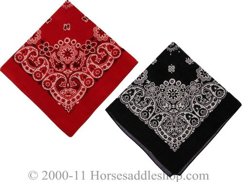 100% Cotton Western Bandana from M & F 10002