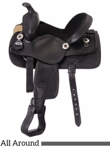 "11"" King Series Youth Trail and All Around Saddle 100"