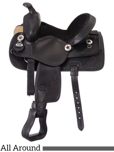 """11"""" King Series Youth Trail and All Around Saddle 100"""