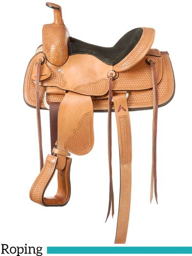 "12"" to 13"" Royal King Frisco Youth Roper Saddle 126"