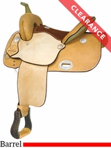 """12.5"""" Billy Cook EP Racer Barrel Saddle 291268 CLEARANCE"""