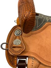"** SALE **12.5"" to 15.5"" Martin Saddlery FX3 Barrel Racer 67-C2"