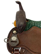 "12.5"" to 15.5"" Martin Saddlery FX3 Barrel Racer 67-C3"