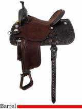 "12.5"" to 15.5"" Martin Saddlery Sherry Cervi Stingray Barrel Racer 71-C4"