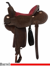 "12.5"" to 15"" Martin Saddlery Lisa Lockhart Fearless Barrel Racer 75-C3"