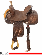 "12.5"" to 16"" Reinsman Team Camarillo Barrel Racer 4233 w/$210 Gift Card"