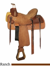 """12"""" Circle Y Little Cowpoke Youth Rancher Saddle 3003"""