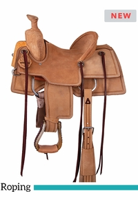 "12"" to 13"" Circle Y Junior Ranch Roper Saddle 2128 w/Free Pad"