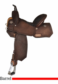 High Horse Lindale Barrel Saddle 6228 w/Free Pad
