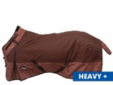 Tough-1 1200D Waterproof Poly Snuggit Turnout Blanket in Tooled Leather Print 32-712025ST