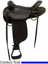 "13"" to 17"" High Horse by Circle Y Highbank Cordura Trail Saddle 6916 w/$55 Gift Card"