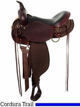 High Horse by Circle Y Eldorado Cordura Trail Saddle 6915 w/Free Pad
