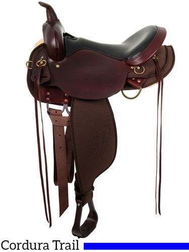 High Horse Eldorado Cordura Trail Saddle 6915 w/Free Pad