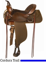 "** SALE **13"" to 17"" High Horse by Circle Y Lockhart Cordura Trail Saddle 6910"