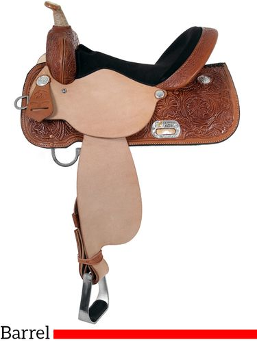 High Horse Liberty Barrel Saddle 6212 w/Free Pad