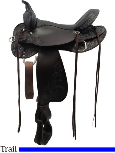 High Horse Oyster Creek Trail Saddle 6808 w/Free Pad