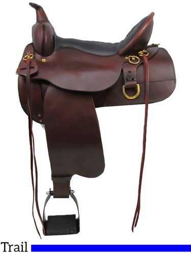 High Horse by Circle Y Big Springs Trail Saddle 6862 w/Free Pad