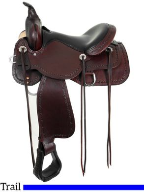 "13"" to 17"" High Horse by Circle Y Winchester Trail Saddle 6819 w/Free Pad"