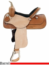 "13"" to 16"" American Saddlery The Denero Barrel Racing Saddle 824 825"