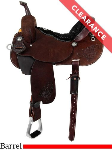 13.5 Double J Pozzi Pro Barrel Racer SBP100B, CLEARANCE