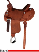 "12.5"" to 15.5"" Martin Saddlery FX3 Barrel Racing Saddle mr67PFS"