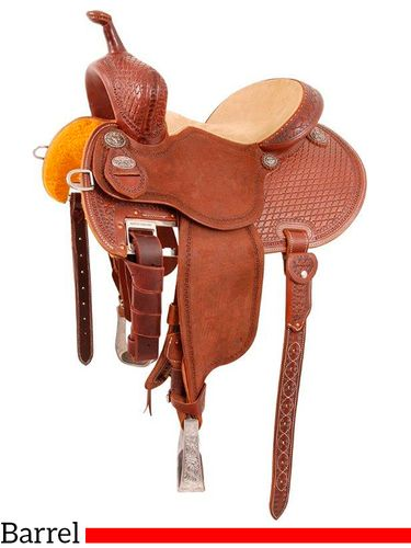 "12.5"" to 15.5"" Martin Saddlery FX3 Barrel Racing Saddle mr67TW"
