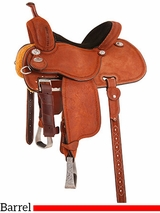 "12.5"" to 15"" Martin Saddlery Sherry Cervi Crown C Barrel Racer mr97P"