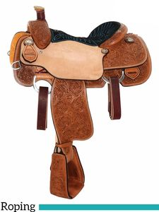 "13.5"" to 15"" Reinsman Calf Roping Saddle 4304 w/Free Pad"