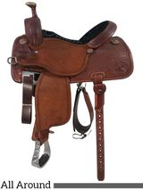 "13.5"" to 17"" Martin Saddlery Custom Roughout Rider All-Around 14-C4"