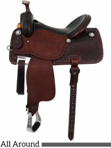 "** SALE **13.5"" to 17"" Martin Saddlery High Plains Equinox All-Around Saddle 14-C1"