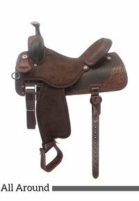 "13.5"" to 17"" Martin Saddlery High Plains Mirage All-Around 14-C7"