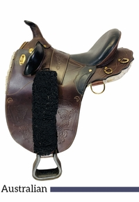 13.5Inch Used Austrailian Saddle Dundee Rancher *Free Shipping*