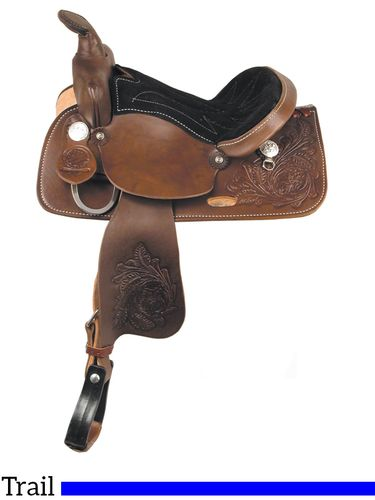 "13"" American Saddlery Trail Master General Grant Youth Trail Saddle 215"
